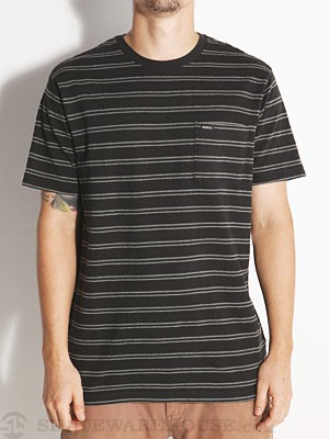 RVCA Vumont Crew Knit Shirt Black MD