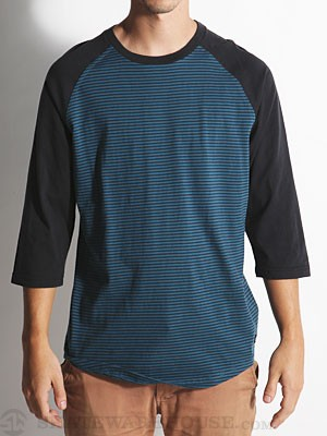 RVCA Westerly Custom Raglan Legion Blue/LEG SM