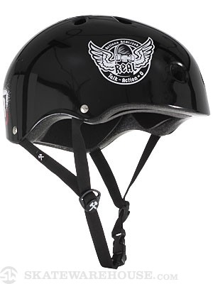 S-One Lifer CPSC Helmet Blk Real Roll Forever MD