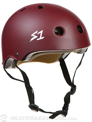 S-One Lifer CPSC Helmet Maroon SM
