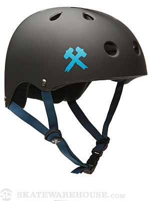 S-One Premium Helmet Black Matte/Navy MD