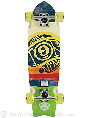 Sector 9 Floater Mini Yellow Complete  9.0 x 29.25