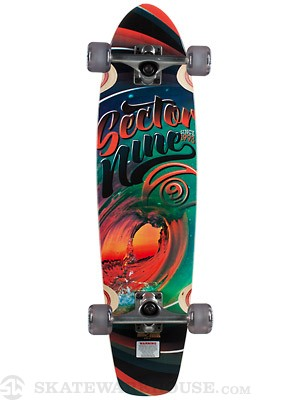 Sector 9 Liquid Metal Mini Complete  9.25 x 31.5