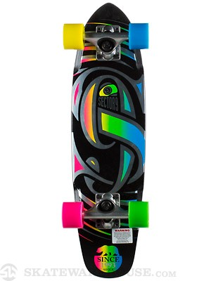 Sector 9 The Steady Black Complete  6.75 x 25