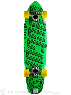 Sector 9 The Wedge Green Complete  7.25 x 31.3