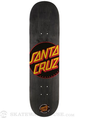 Santa Cruz Black Dot Deck  8.2 x 31.9