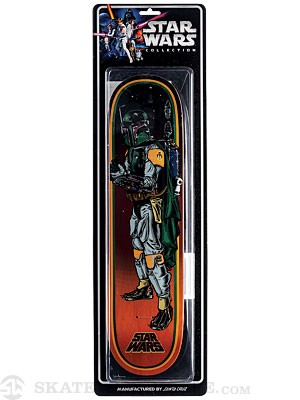 Santa Cruz x Star Wars Boba Fett LTD Deck  8.0 x 31.6