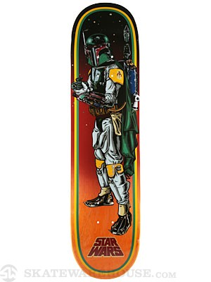 Santa Cruz x Star Wars Boba Fett Deck  8.0 x 31.6