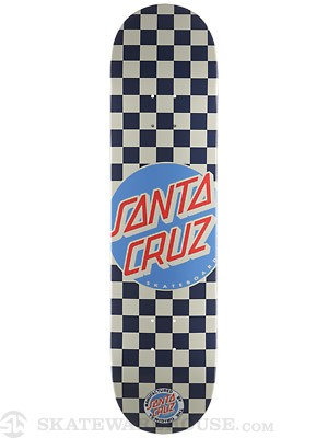 Santa Cruz Check Dot Blue Deck  7.9 x 31.7