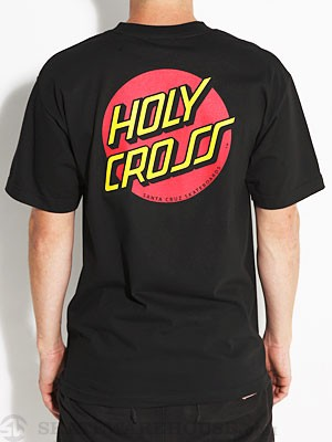 Santa Cruz Holy Cross Tee Black MD