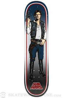 Santa Cruz x Star Wars Han Solo Deck  8.26 x 31.7