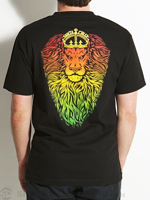 Santa Cruz Lion God Tee Black MD