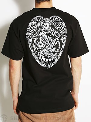 Santa Cruz OGSC Badge Tee Black SM