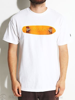Santa Cruz OGSC Skateboard Tee White MD