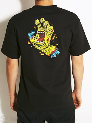 Santa Cruz Rob Hand Tee Black SM