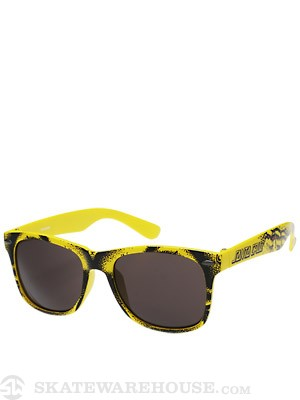 Santa Cruz Rob Face Sunglasses  Yellow