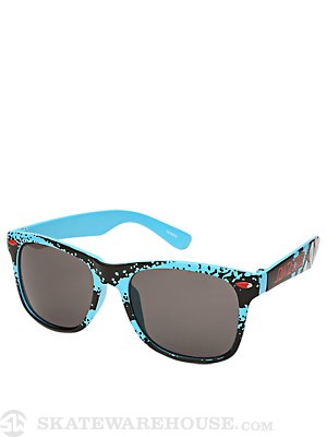 Santa Cruz Retro Shark Sunglasses  Blue