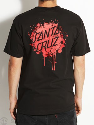 Santa Cruz Slaughter Tee Black SM