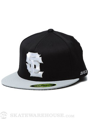 SC Block 2 210 Flexfit Hat Black/Grey SM/MD