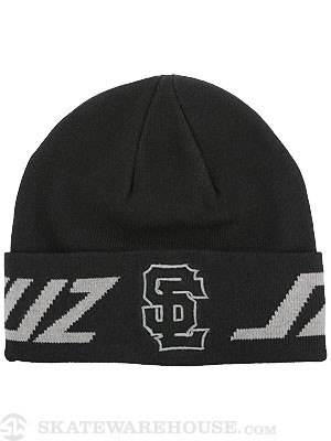 Santa Cruz SC Block Beanie Black
