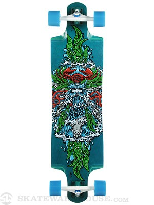 Santa Cruz Sea God Cruz Control Longboard  9.9 x 38.38