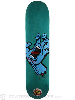Santa Cruz Screaming Hand Seven Six Deck  7.6 x 31.5