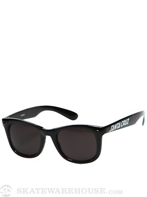 Santa Cruz Strip Shades  Black
