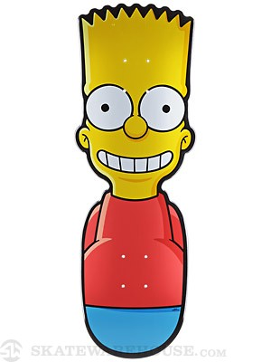 Santa Cruz Simpsons The Bart Deck  8.7 x 25.4