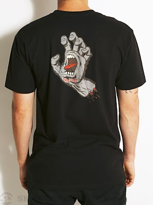 SC Vintage Screaming Hand Tee Black MD