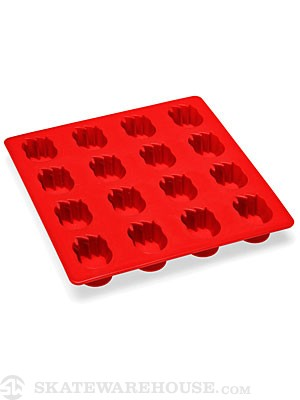 Spitfire Firehead Ice Cube Tray  Red