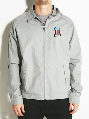 Spitfire Meacum Zip Jacket Grey SM
