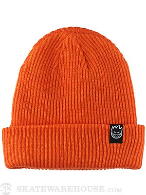 Spitfire Scorch Cuff Beanie Orange One Size