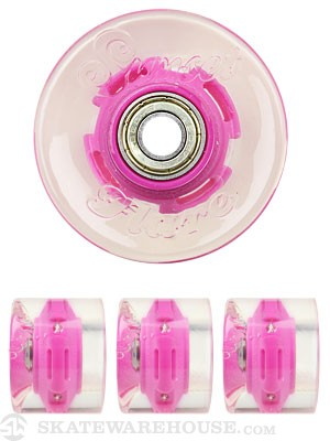 Sunset Flare Purple LED Wheels  59mm