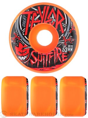 Spitfire Taylor No Mercy Swirl SFW Wheels