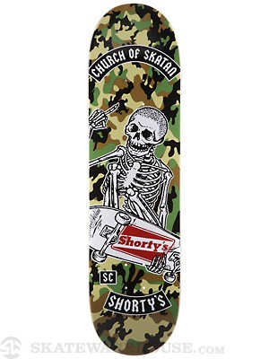 Shorty's x Church of Skatan Stale Fish Deck 8.5 x 32