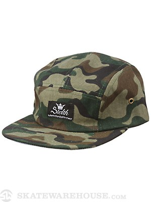 Stelth Sentry 5 Panel Hat Camo