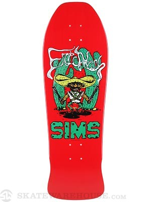 Sims Eric Nash Bandito Red Deck 10 x 30.5