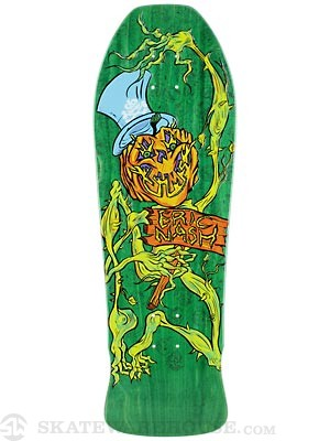 Sims Eric Nash Pumpkin Green Deck 10 x 30.5