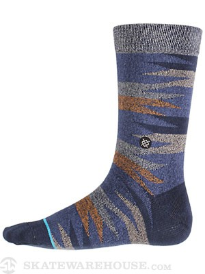 Stance Four Corners Socks  Blue