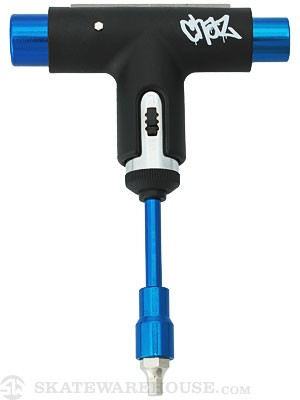 Silver Chaz Ortiz Blackout Ratchet Tool Black/Blue