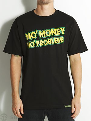 Shake Junt Mo' Money Tee Black/Yellow MD