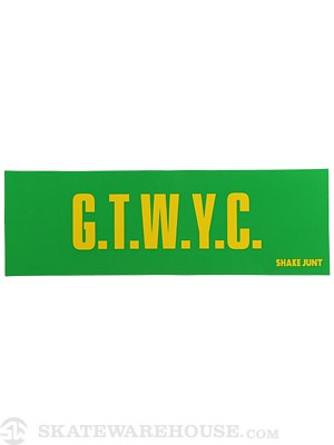 Shake Junt GTWC Slogan Sticker