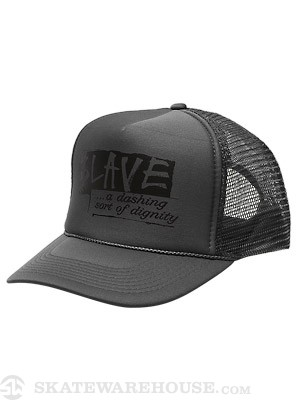 Slave Dignity Mesh Hat Charcoal Adjustable