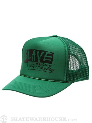 Slave Dignity Mesh Hat Kelly Green Adjustable