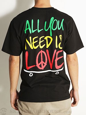 Sk8 Mafia All You Need Tee Black MD