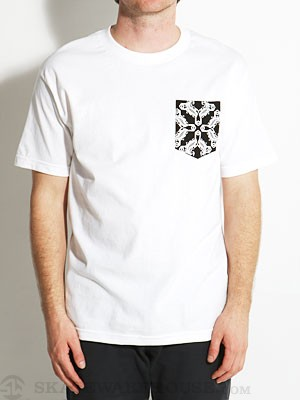 Sk8 Mafia Bandana Pocket Tee White/Black SM