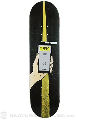 Skate Mental Plunkett Breathalyzer Deck 8.375 x 31.75