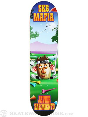 Sk8 Mafia Sarmiento Toe Up Deck 7.8 x 31.75
