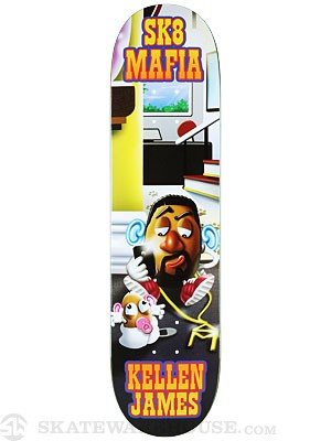 Sk8 Mafia James Toe Up Deck 8.0 x 32