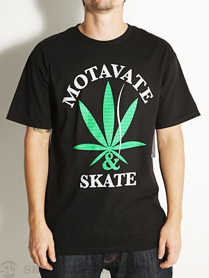 Sk8 Mafia Motivate Tee Black MD